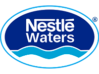 Logo de Nestlé Waters